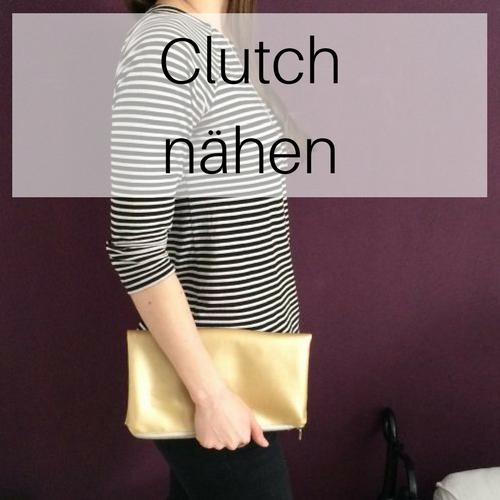 Anleitungen Clutch nähen