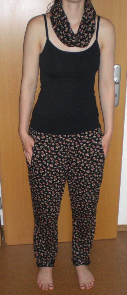 Hose und Loopschal