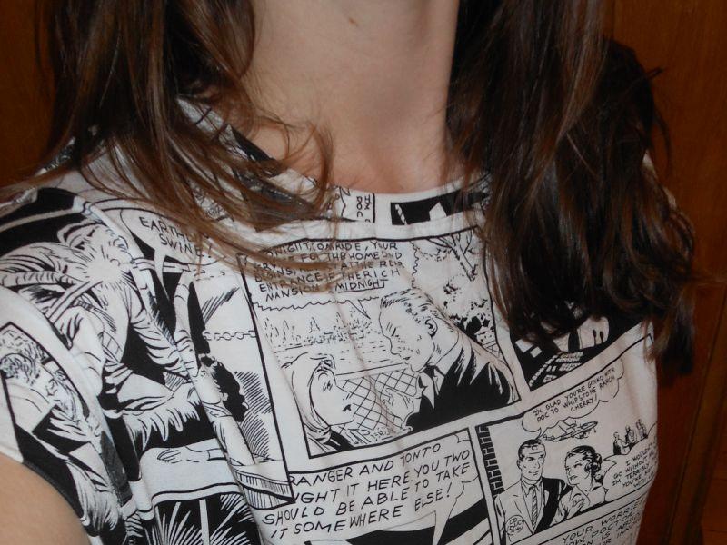 Kleid Comic