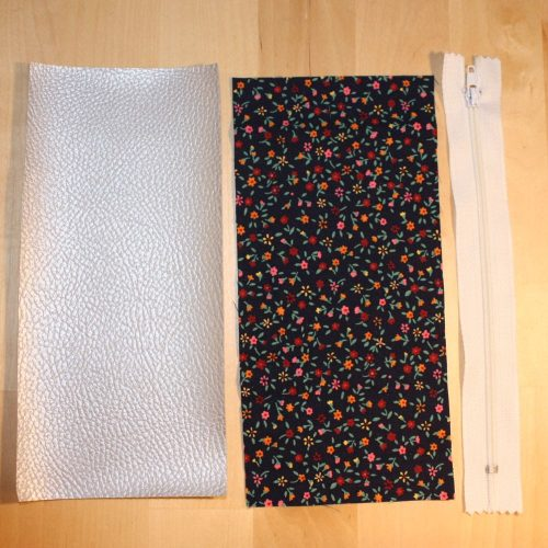 Reißverschluss-Tasche Maße