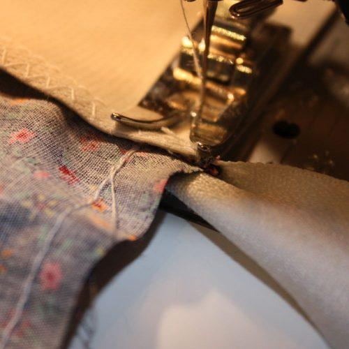 Reißverschluss-Tasche Seiten
