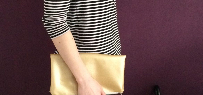 Goldene Clutch