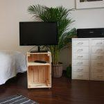 TV-Möbel aus Weinkiste