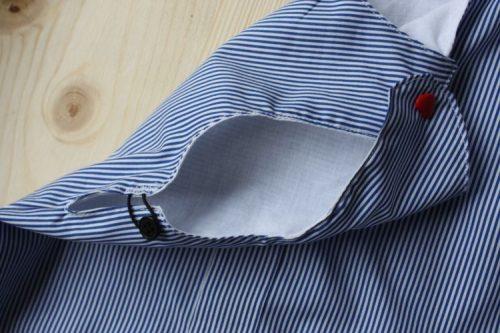 Gummiverschluss für leichteres Anziehen