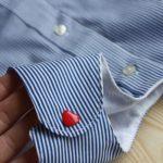 Ein Herrenhemd zum Babykleid vernähen
