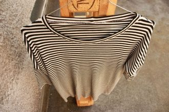Gestreiftes Oversize Shirt