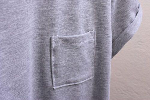 T-Shirt Ava Brusttasche