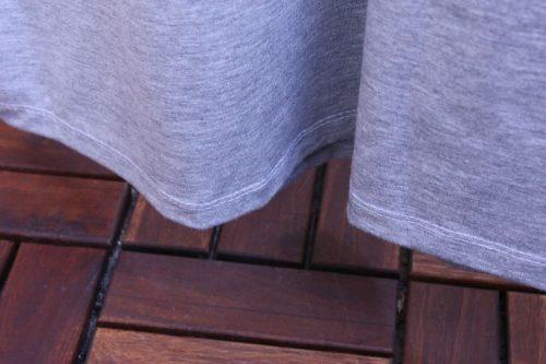 T-Shirt Ava Zwillingsnaht Saum