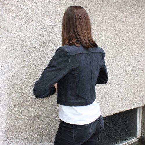 Jeansjacke Rückenansicht