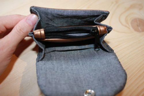 Portemonnaie Kleingeldfach