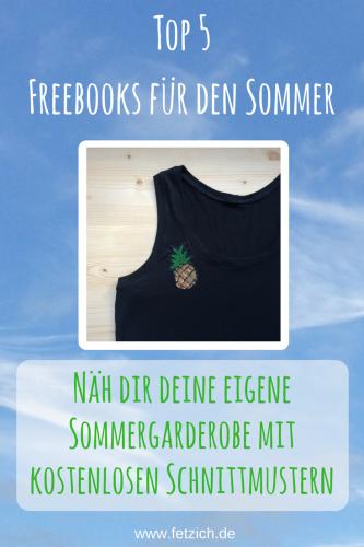 Top 5 Freebooks für den Sommer