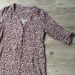 Flatteriges Blusenkleid aus Viskose