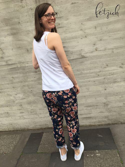 Sommerhose Roxie Rückansicht