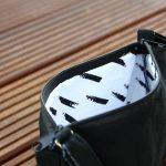 Handtasche aus Wildlederimitat