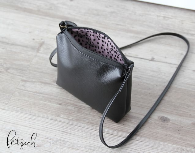 Handtasche nah  - Schnittmuster abwandeln - Pattern Hack