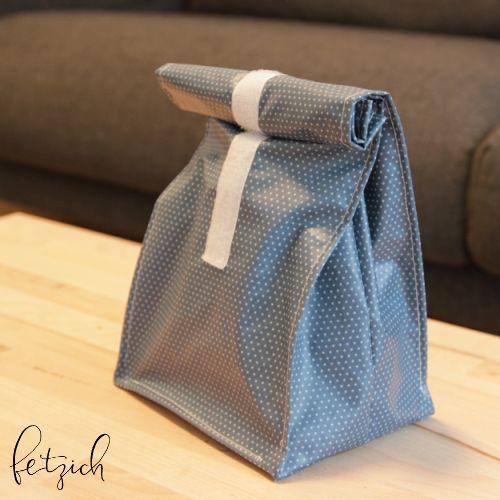 Lunchbag blau 2l - Nachhaltigkeit & Nähen