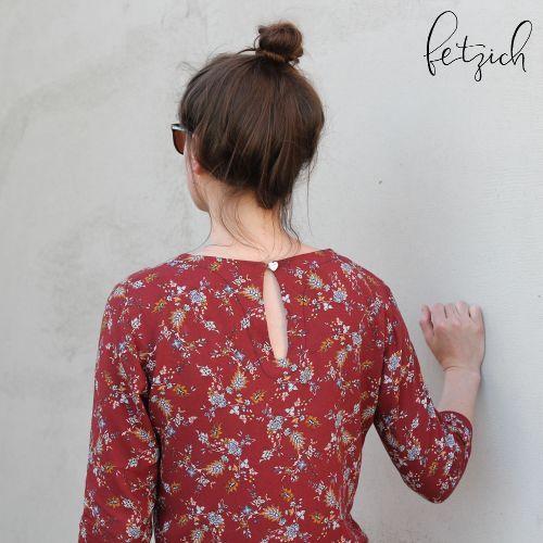 Blusenkleid Allie mit Tropfenverschluss
