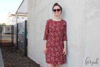 Blusenkleid Allie aus Viskose