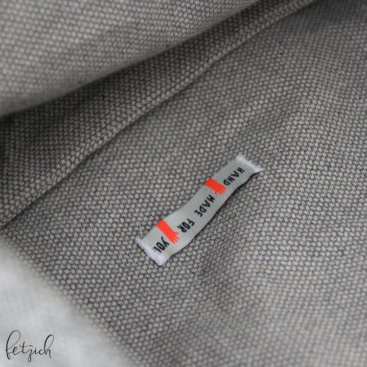 Rucksack Range Backpack Innenteil mit Label
