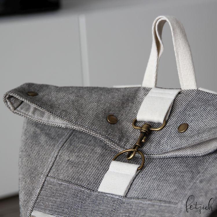 Rucksack Range Backpack mit Messingschnalle