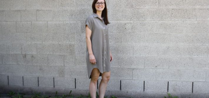Shirtdress Kalle aus Tencel