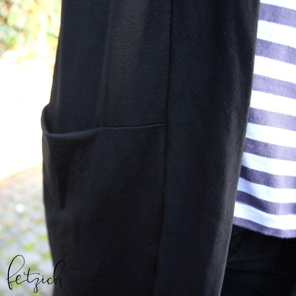 Taschen des Cardigan Carina