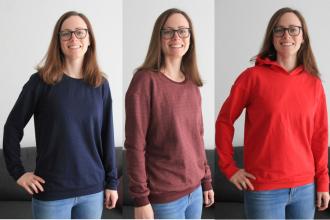 Pullover Zoey in drei Variationen