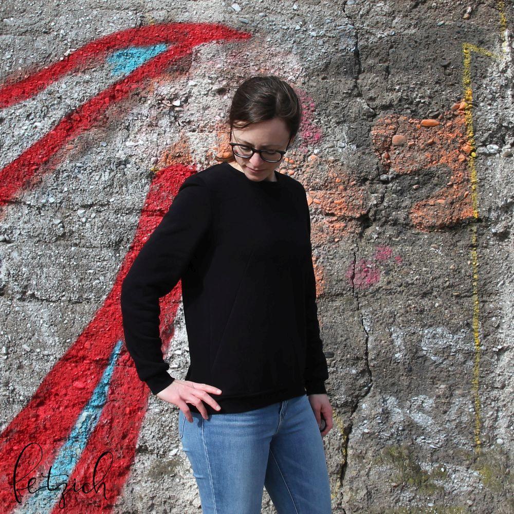 Abnäher beim Sloane Sweater