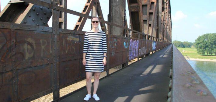 Kleid Stacey mit Blockstreifen