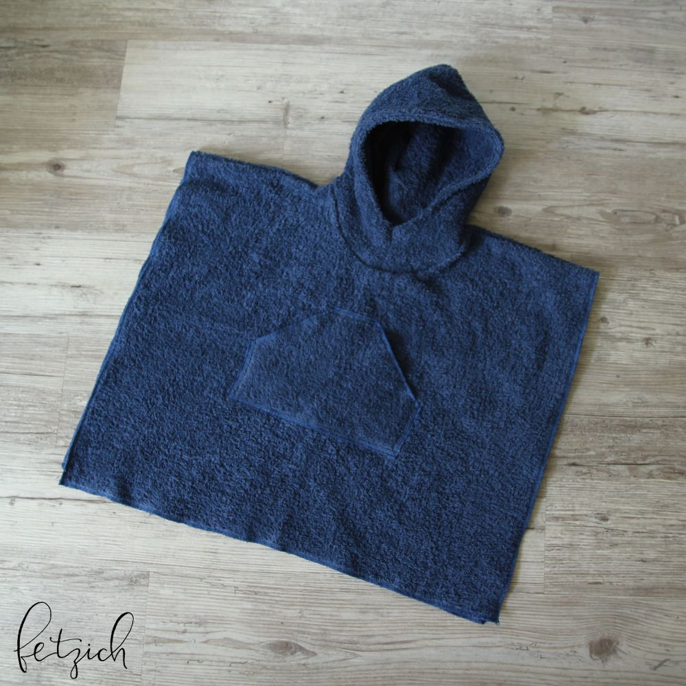 Badeponcho aus Frottee