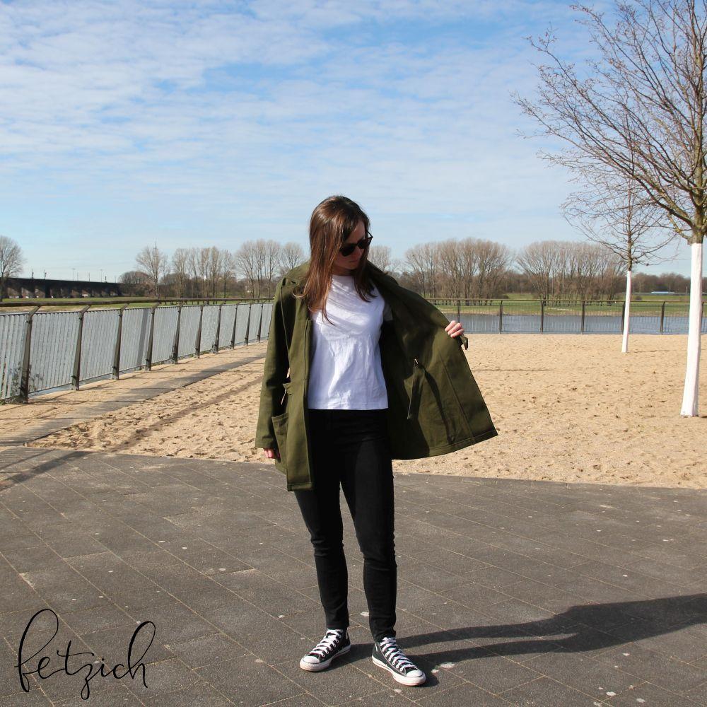 Sienna Maker Jacket - offen getragen