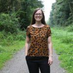 Inari Blusenshirt im Leopardenlook